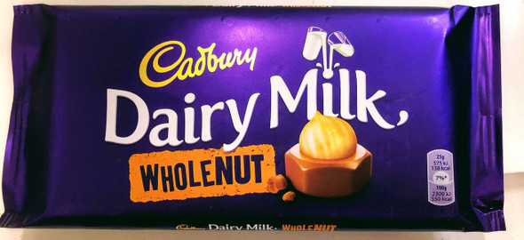 Cadbury Whole Nut Bar - 200g