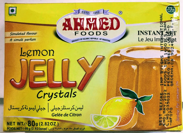 Ahmed Jelly Lemon -80g