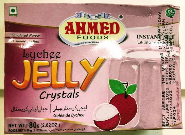 Ahmed Jelly Lychee - 80g