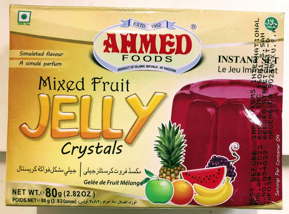 Ahmed Jelly Mix Fruit - 80g