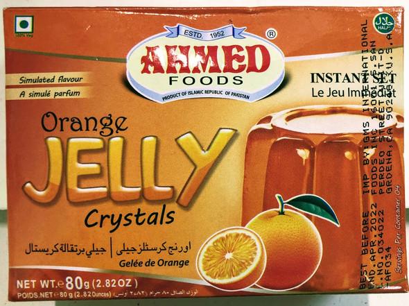 Ahmed Jelly Orange - 80g