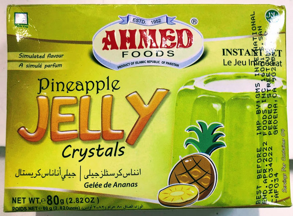 Ahmed Jelly Pineapple - 80g