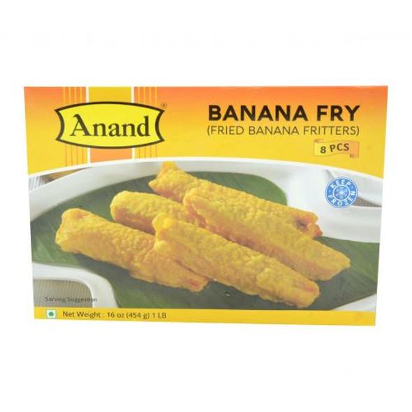 Anand Frozen Banana Fry - 1lb