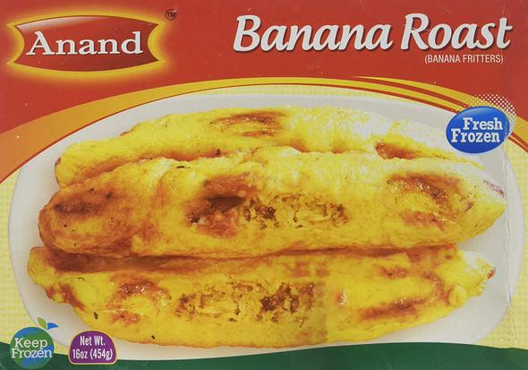 Anand Frozen Banana Roasted - 1lb