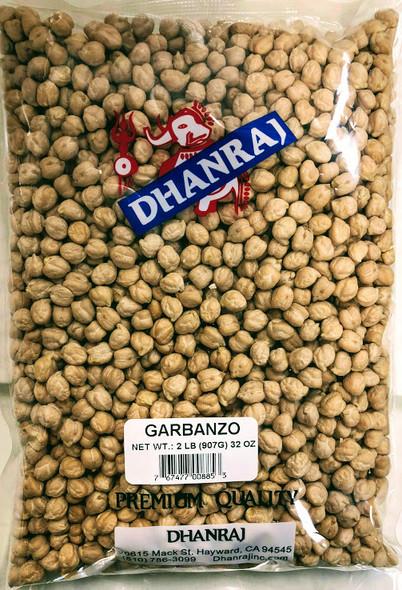 Dhanraj Garbanzo Beans - 2lb