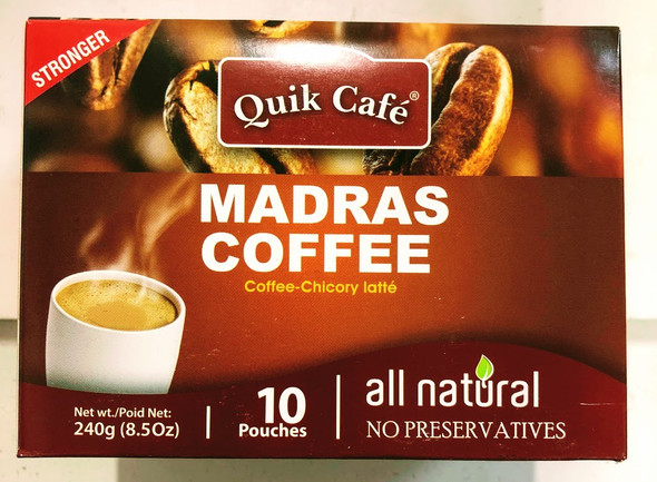 Quik Cafe Madrass Coffee - 240g