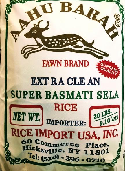 Aahu Barah Rice - 40lb