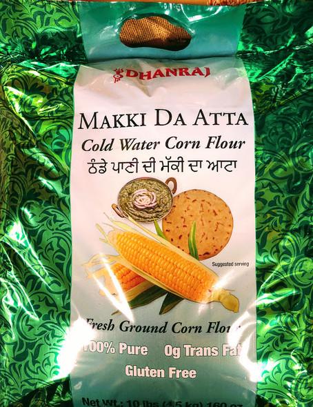 Dhanraj Cold Water Corn Flour - 10lb