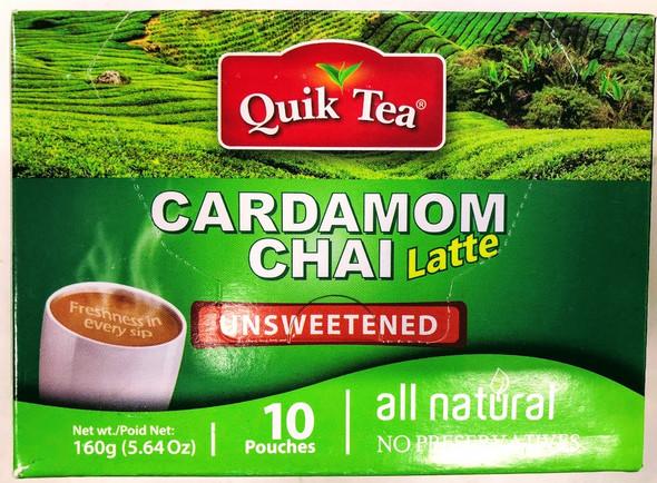 Quik Tea Cardamom Unsweetened Chai - 160g