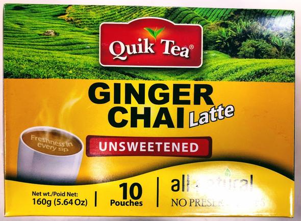 Quik Tea Ginger Unsweetened Chai - 160g