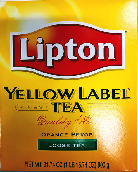 Lipton Yellow Label Tea - 900g