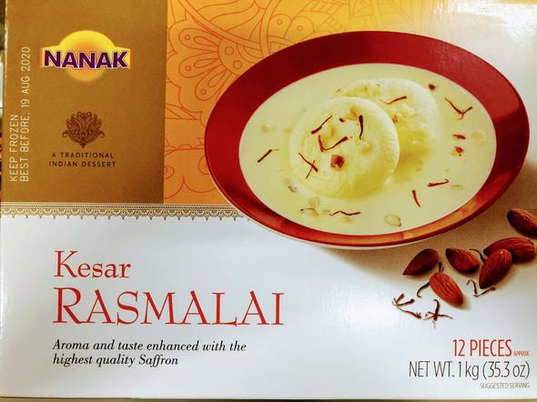 Nanak Kesar Rasmalai - 1kg