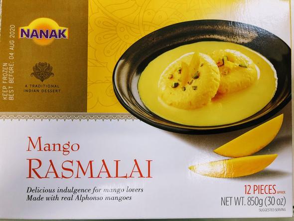 Nanak Mango Rasmalai - 850g
