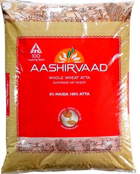 Aashirvaad Whole Wheat Atta  - 22lb