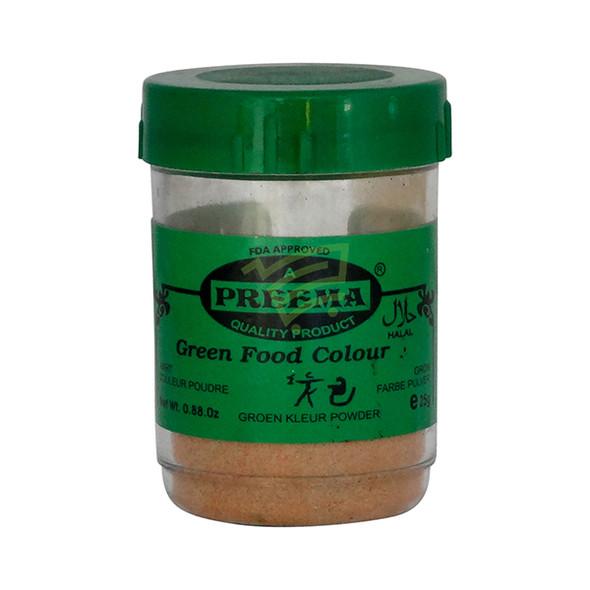 Preema Green Food Color - 25g
