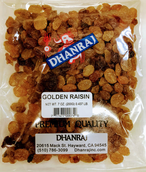 Dhanraj Golden Raisin - 200g