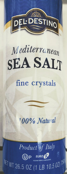 Sea Salt Fine Crystals -750g