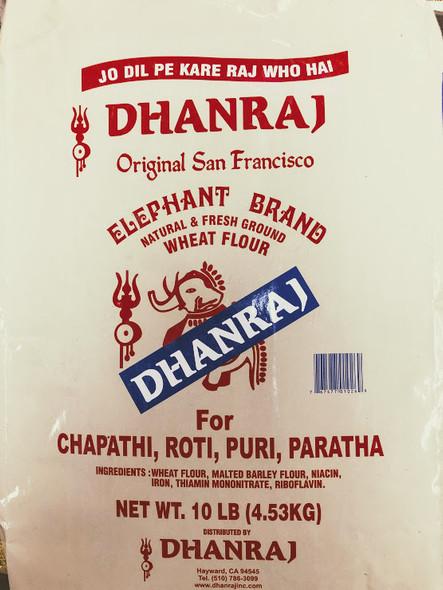 Dhanraj Wheat Flour - 10lb