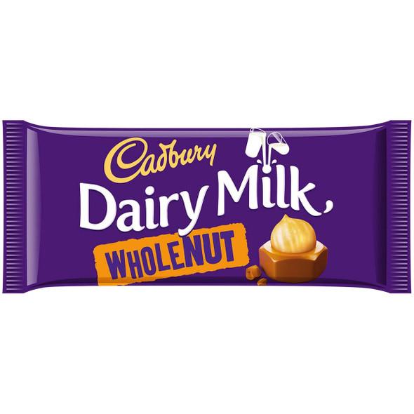 Cadbury Dairy Milk Whole Nut - 100g