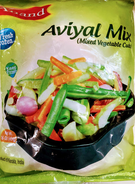 Anand Frozen Avial Mix - 1lb