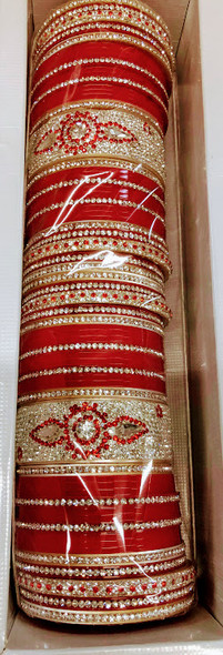 Punjabi Chuda Set Design 02 Size 2.6