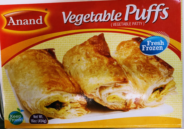Anand Frozen Vegetabel Puffs - 1lb