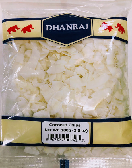 Dhanraj Coconut Chips - 100g
