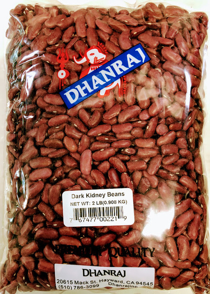 Dhanraj Dark Kidney Beans - 2lb