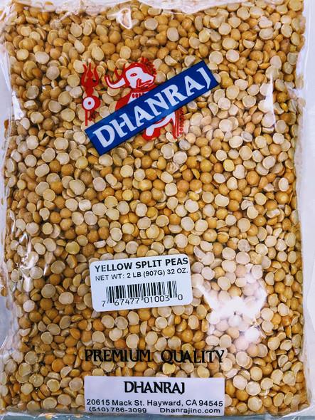 Dhanraj Yellow Split Peas - 2lb