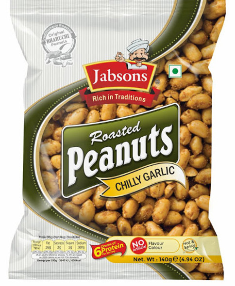 Jabson Roasted Peanut Chilly Garlic 140gm
