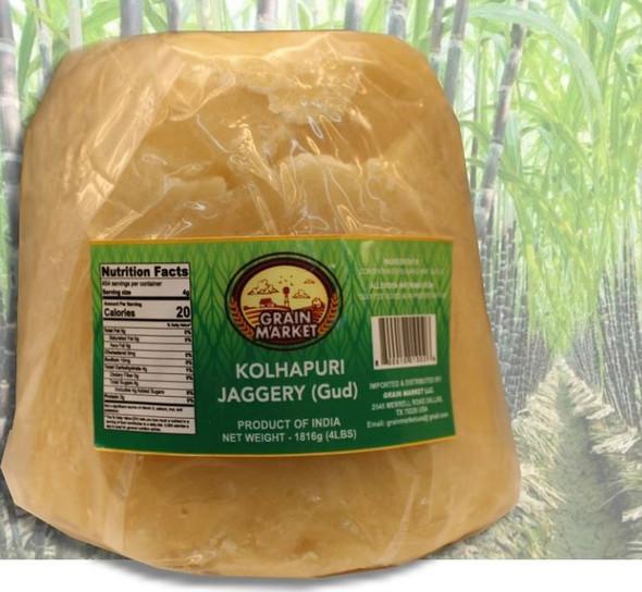 Grain Market Kohlapuri Jaggery  1kg