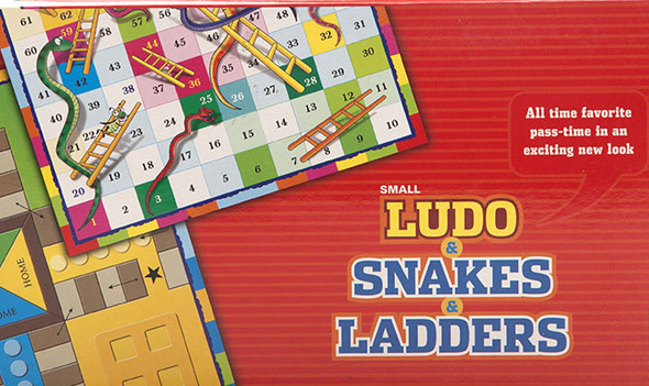 """Ludo & Snakes and Ladders 18"""""""