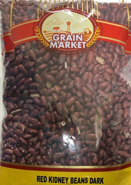 Grain Market Kidney Beans Dark 2lb