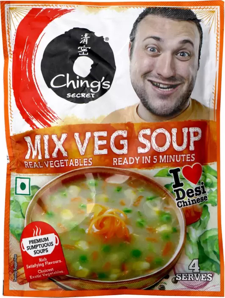 Ching's Mix Veg Soup 55gm