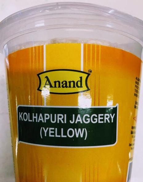 Anand Kohlapuri Jaggery (Yellow) 1lb