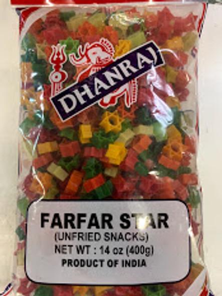 Dhanraj Star Farfar Fryum 14oz