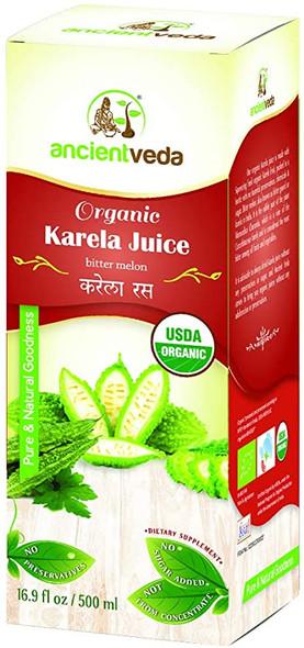 Ancient Veda Organic Karela Juice 500ml