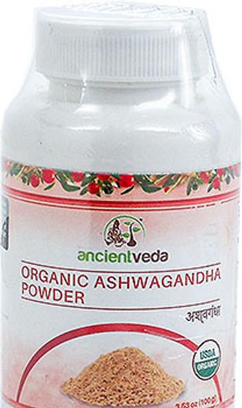 Ancient Veda Organic Ashwagandha Powder 100gm