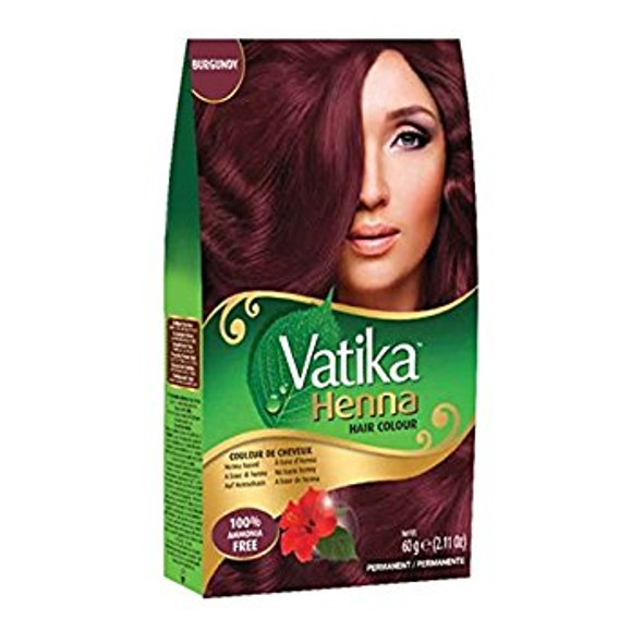 Dabur Vatika Henna Hair Colour-Burgunday 60gm