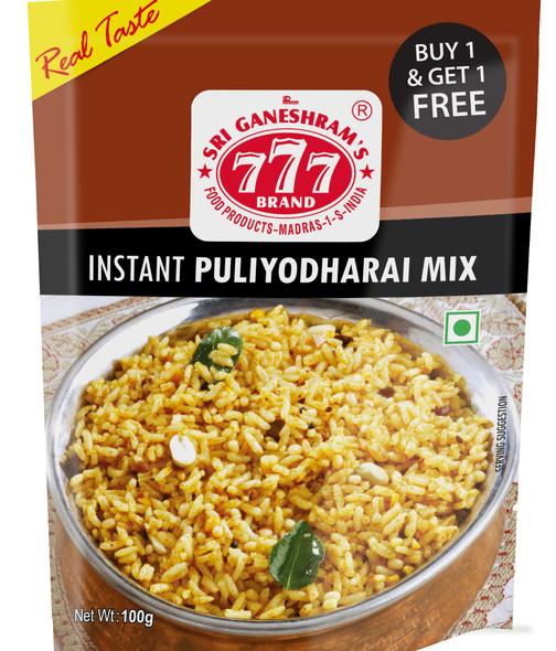 777 Instant Puliyodharai 165 Gms -Buy 1 Get 1 Free