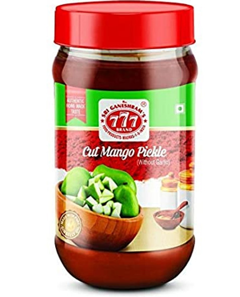 777 Cut Mango Pickle 300gms Buy 1 Get 1 Free