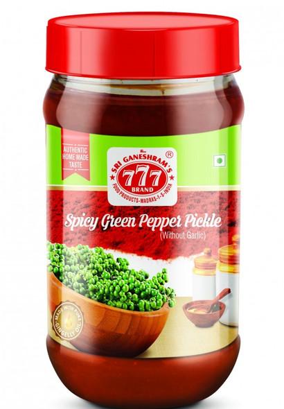777 Green Pepper Pickle 300gms -Buy 1 Get 1 Free