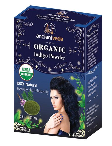 Ancient Veda Organic Indigo Powder 100gm