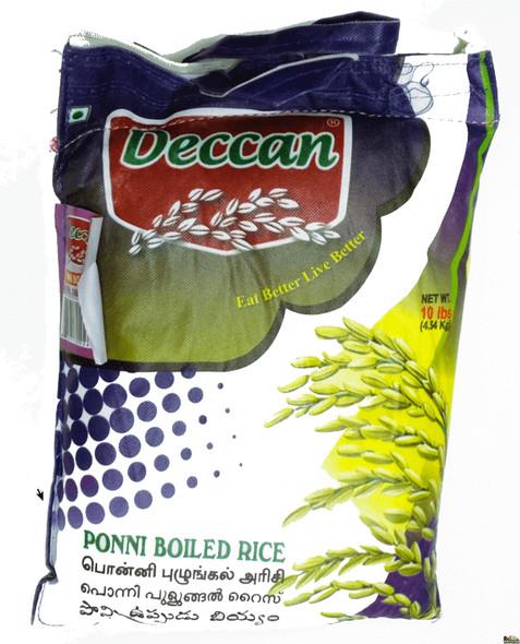 Deccan Ponni Boiled Rice 10Lbs