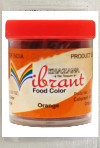 Vibrant Food Color Orange 25 Gms