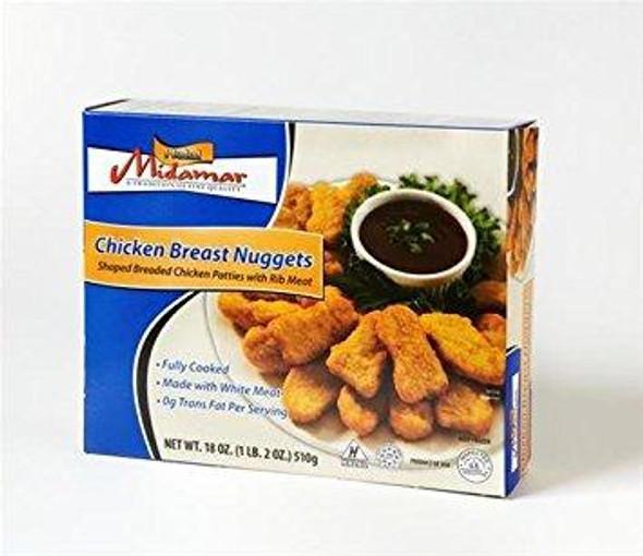 Midamar Chicken Breast Nuggets 18oz
