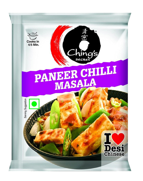 Chings Paneer Chilli Masala - 20g