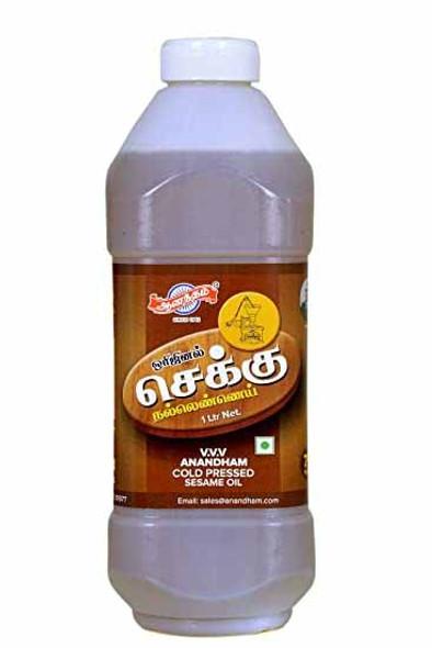 Anandham Cold Pressed Sesame Oil  2ltr