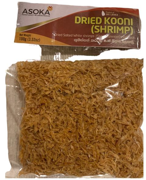 Asoka Dry Shrimp (Kooni) 100 Gms