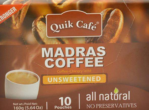 Quik Cafe Madrass Coffee - 160g